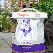 Katzenfutter Sack Verschluss